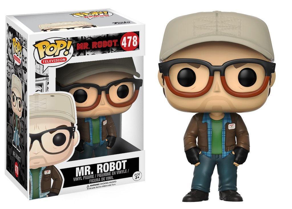 Mr. Robot POP! TV Vinyl Figure Mr. Robot 9 cm