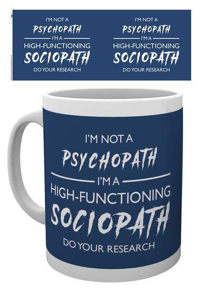 Sherlock Mug I'm Not a Psychopath