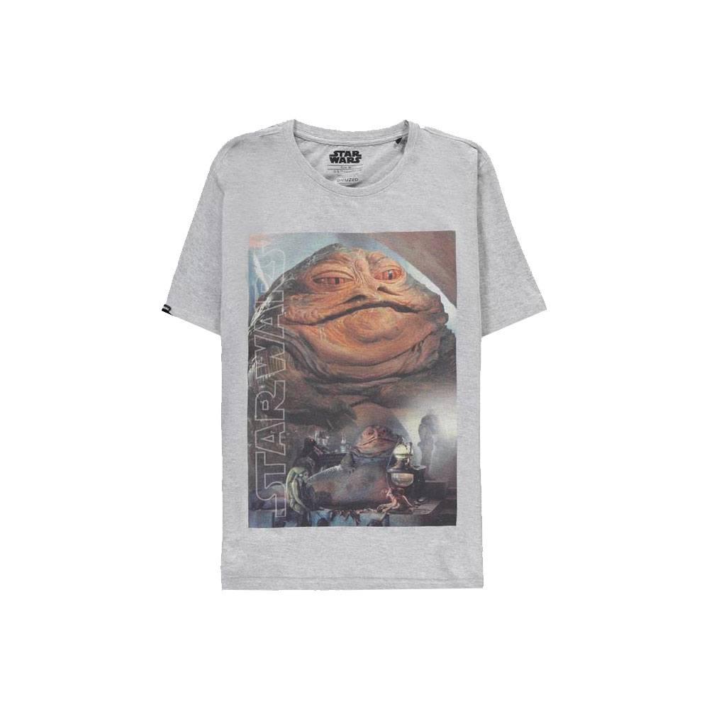 Star Wars T-Shirt Jabba The Hutt Size L