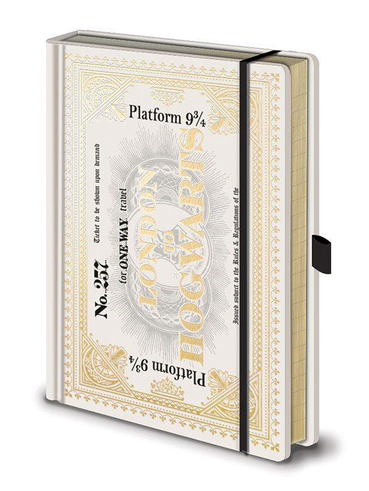 Harry Potter Premium Notebook A5 Hogwarts Express Ticket