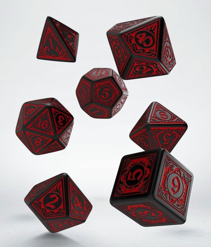 Pathfinder Dice Set Wrath of the Righteous (7)