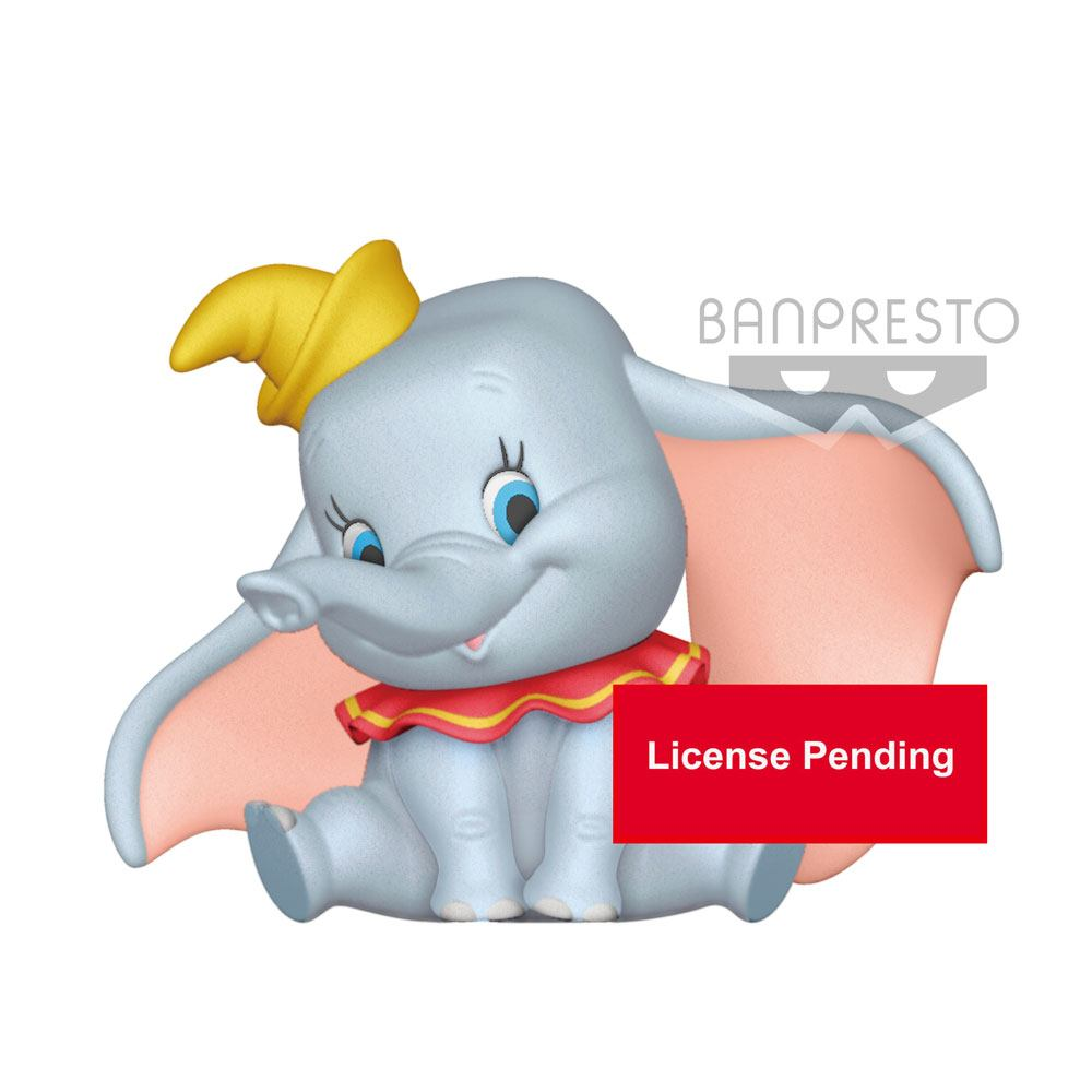 Disney Fluffy Puffy Mini Figure Dumbo A Normal Version 9 cm