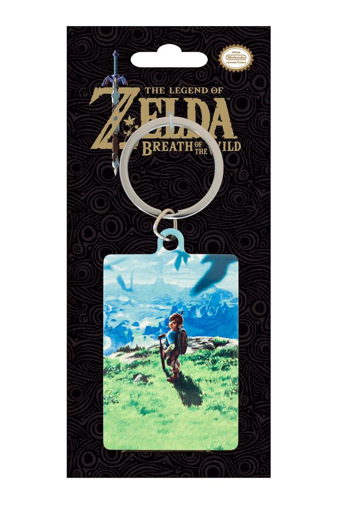 Legend of Zelda Breath of the Wild Metal Keychain View 6 cm