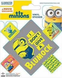 Minions Vinyl Sticker Pack (10) Blumock