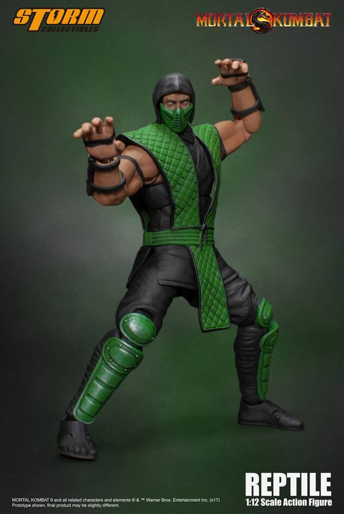 Mortal Kombat Klassic Action Figure 1/12 Reptile 18 cm