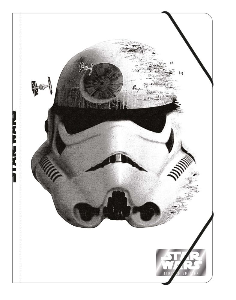 Star Wars Episode VII Elastic Band Folder A4 Stormtrooper Case (12)
