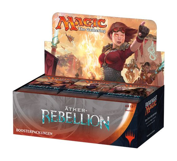 Magic the Gathering Äther-Rebellion Booster Display (36) german