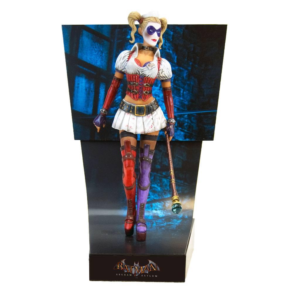 Batman Arkham Asylum Premium Motion Statue Harley Quinn 25 cm
