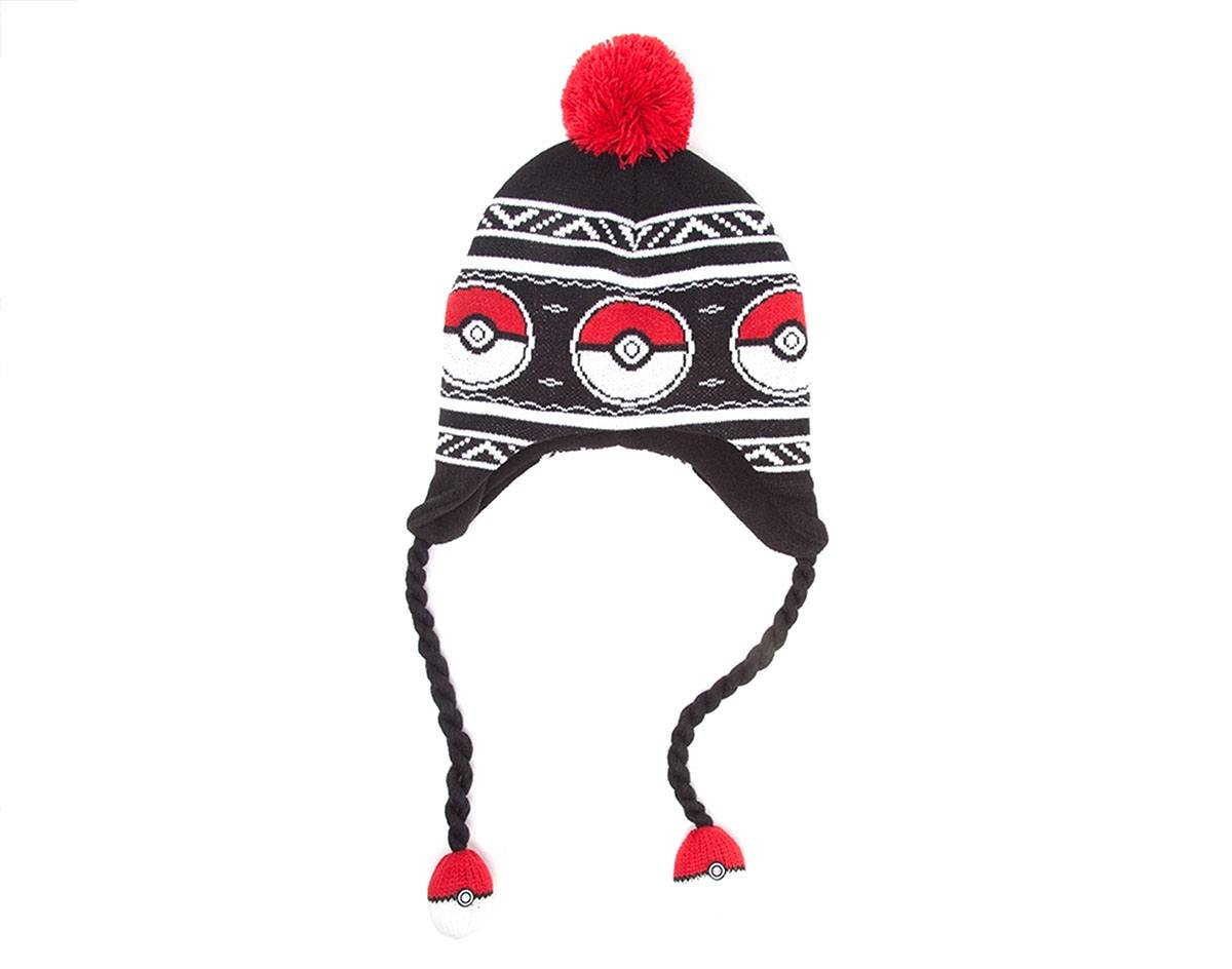 Pokemon Ski Beanie Pokeball Laplander