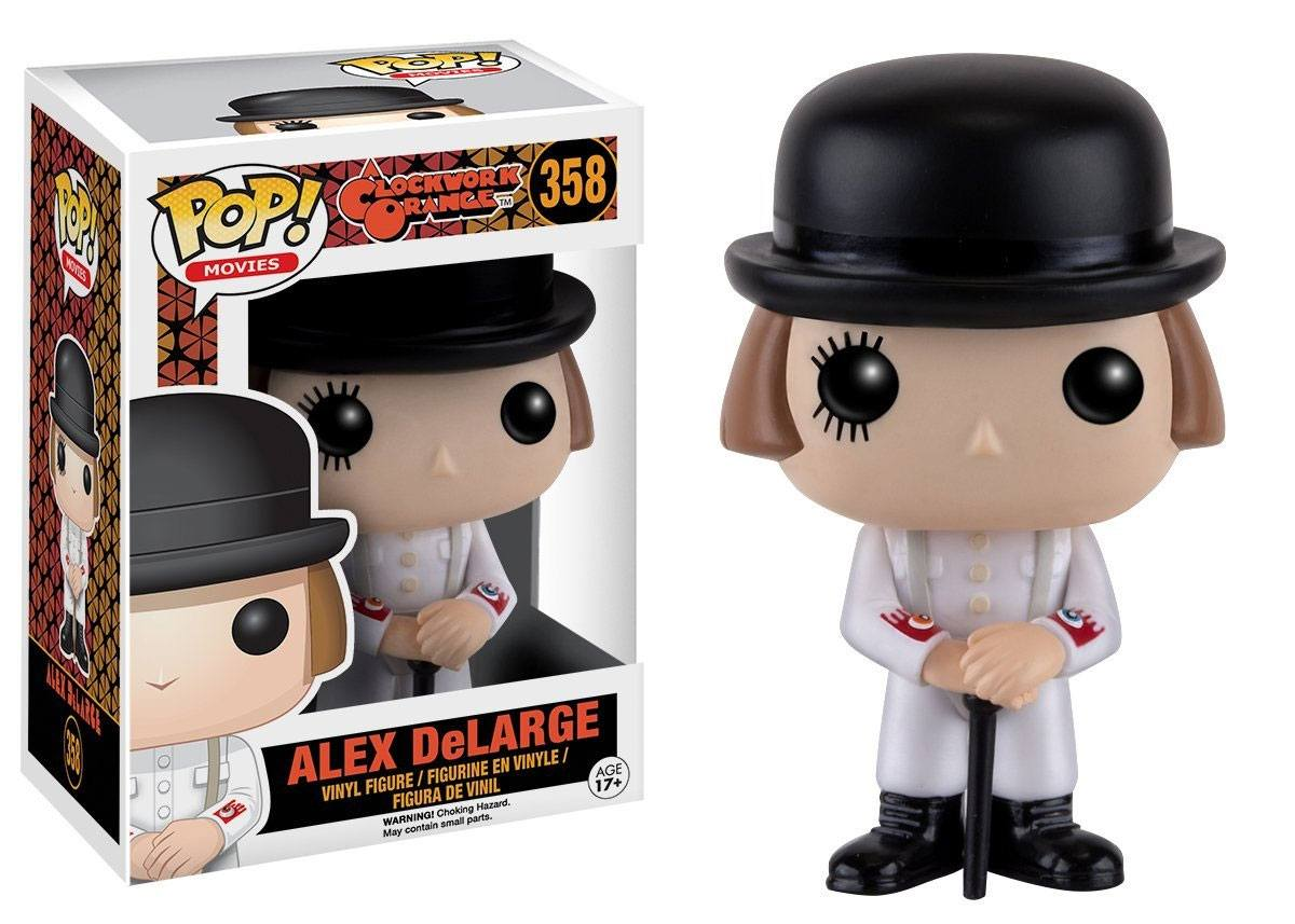 A Clockwork Orange POP! Movies Vinyl Figure Alex DeLarge 9 cm