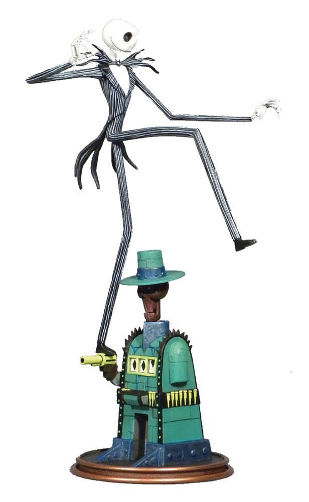 Nightmare before Christmas Gallery PVC Statue Oogie's Lair Jack