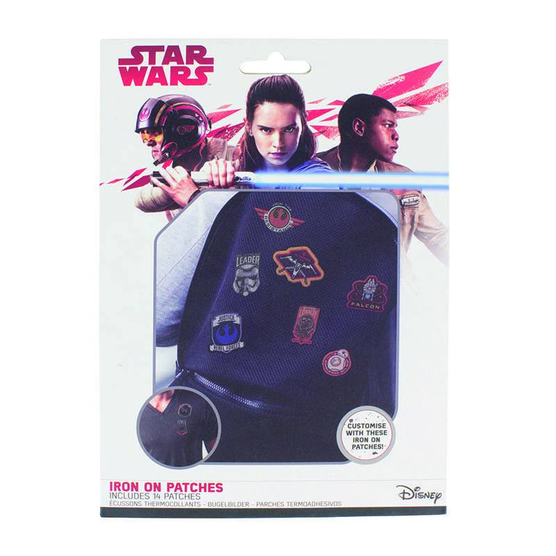 Star Wars Iron-On Patch 14-pack