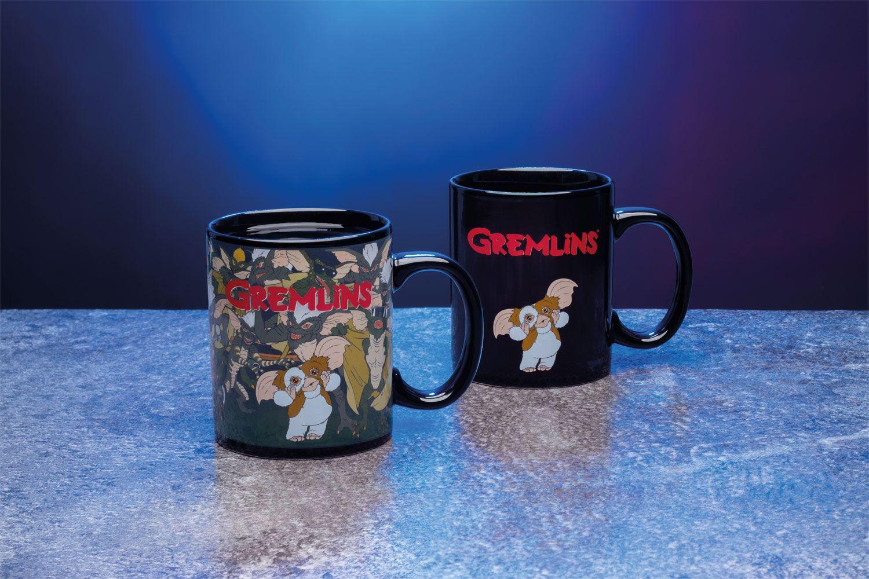 Gremlins Heat Change Mug Gizmo & Logo