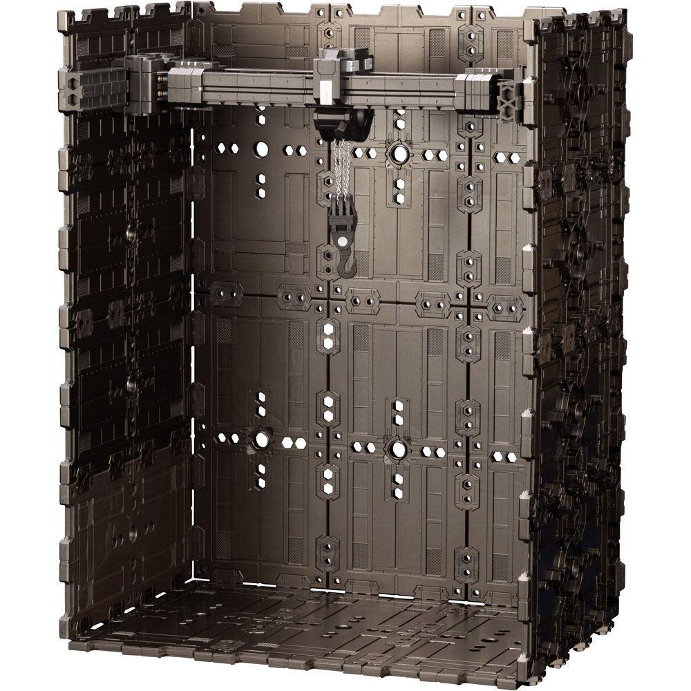 Hexa Gear Plastic Model Kit 1/24 Block Base 04 DX Arsenal Grid 23 cm