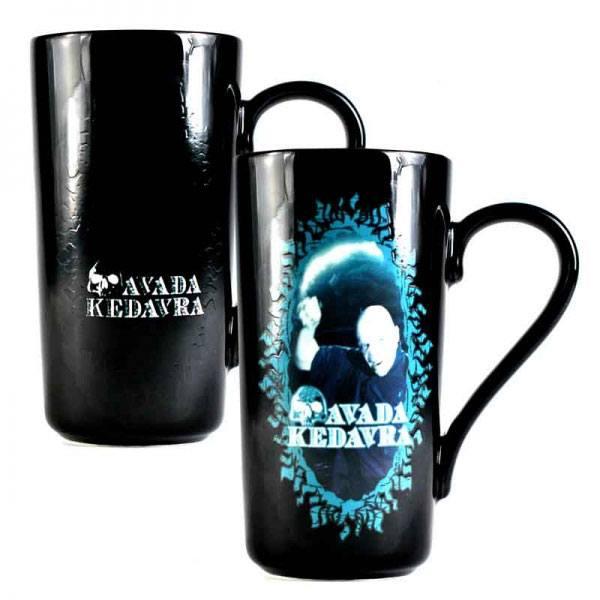Harry Potter Heat Change Latte-Macchiato Mug Voldemort