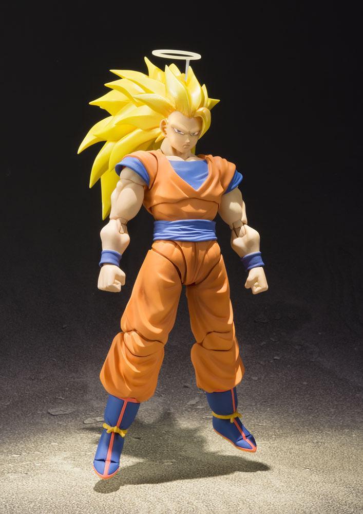 Dragonball Z S.H. Figuarts Action Figure SSJ 3 Son Goku 16 cm