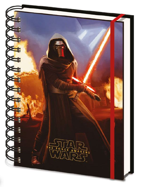 Star Wars Episode VII Lenticular Notebook A5 Kylo Ren