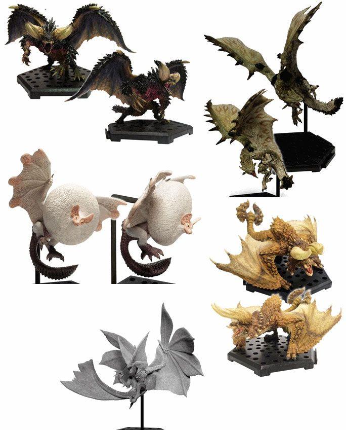 Monster Hunter Trading Figures 10 - 15 cm CFB MH Standard Model Plus Vol. 10 Assortment (6)