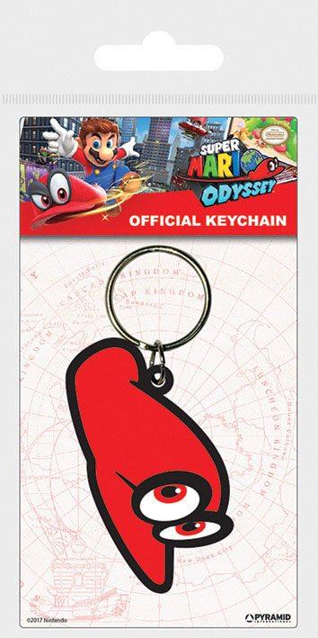 Super Mario Odyssey Rubber Keychain Cappy 6 cm