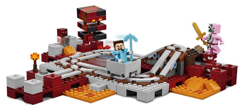 LEGO® Minecraft™ The Nether Railway