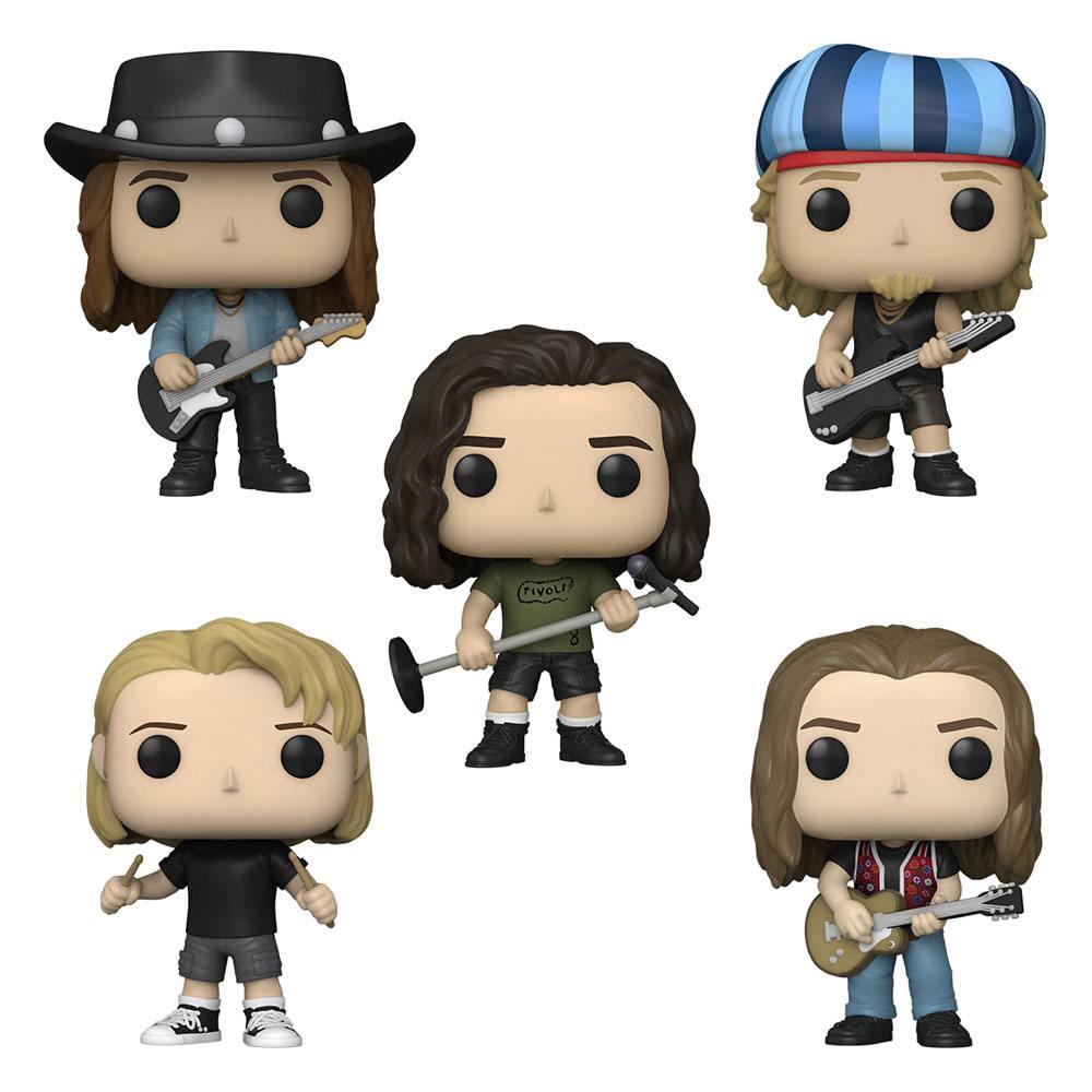 Pearl Jam POP! Rocks Vinyl Figure 5-Pack 9 cm