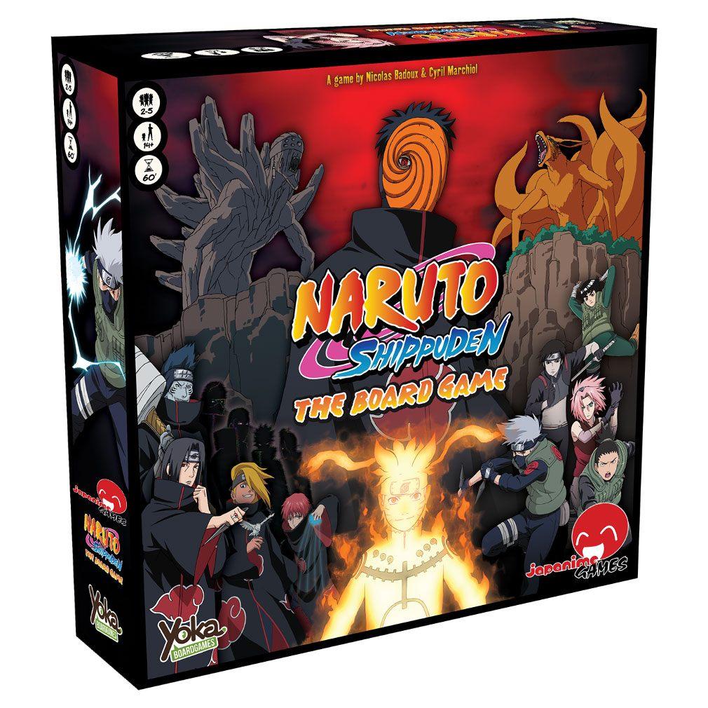 Naruto Shippuden Board Game *English Version* --- DAMAGED PACKAGING