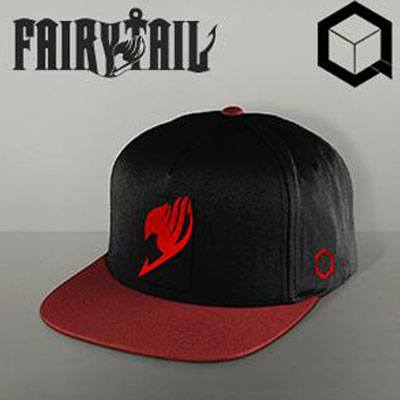 Fairy Tail Snap Back Cap Natsu