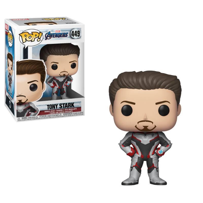 Avengers Endgame POP! Movies Vinyl Figure Tony Stark 9 cm