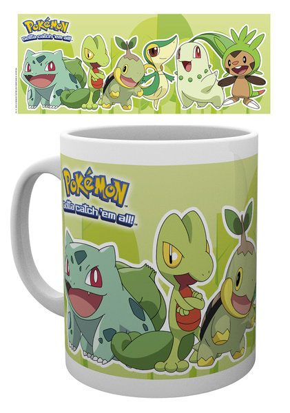Pokemon Mug Grass Partners