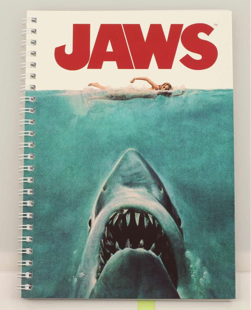 Jaws Notebook Movie Poster