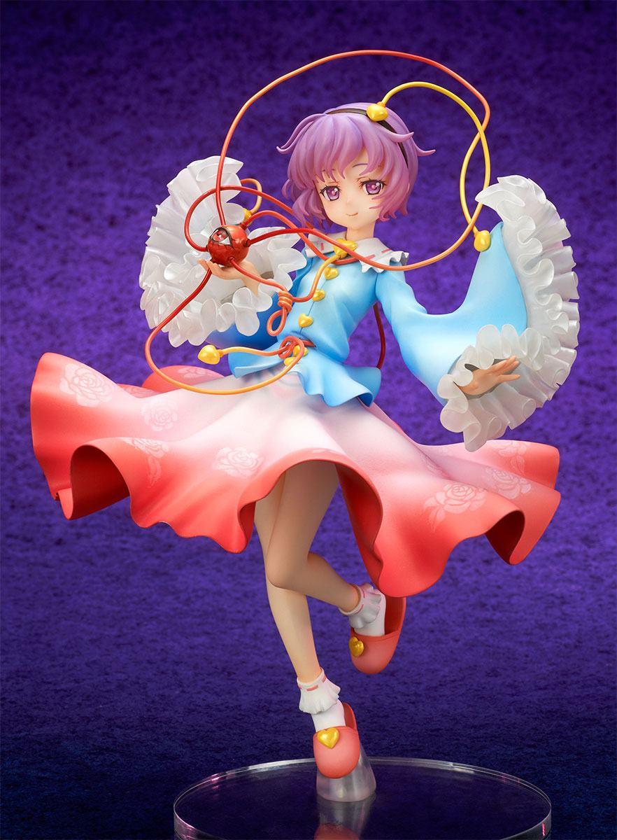 Touhou Project Statue 1/8 Satori Komeiji The Girl Even Vindictive Spirits Fear 18 cm