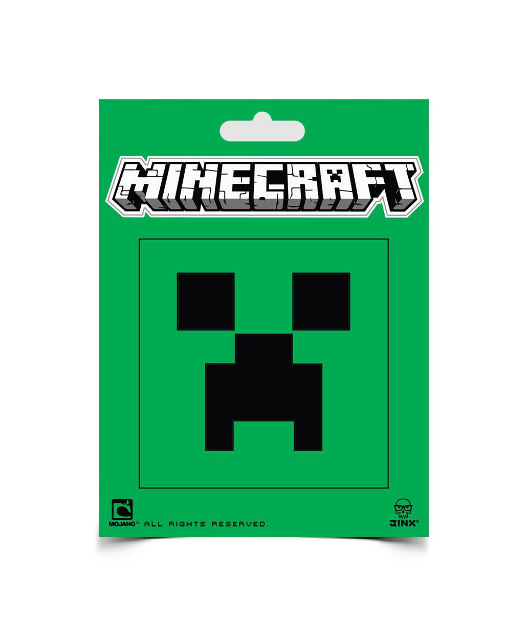 Minecraft Sticker Creeper Face