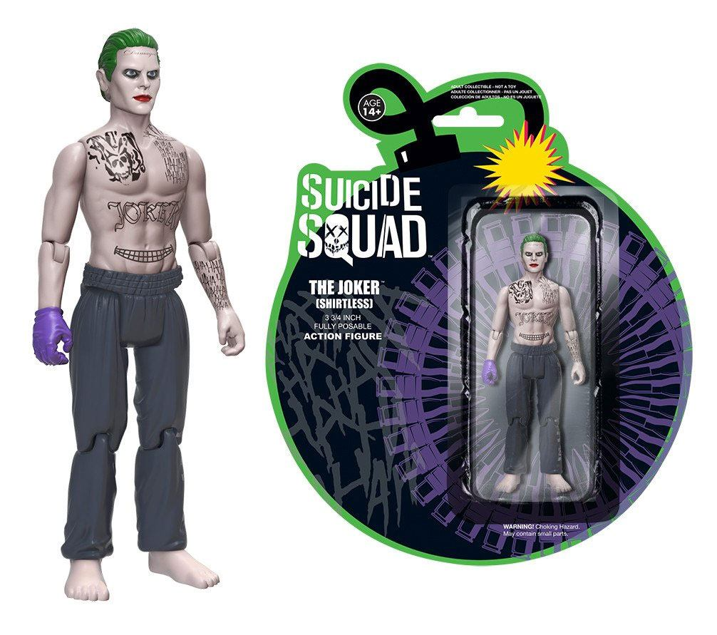 Suicide Squad Action Figure The Joker (Shirtless) 12 cm