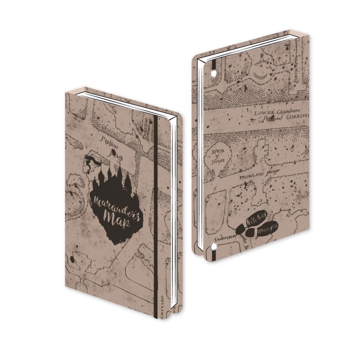 Harry Potter Premium Notebook A5 Marauder's Map