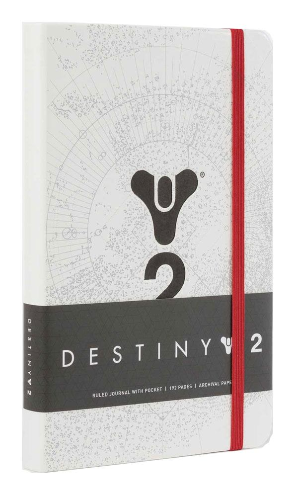 Destiny 2 Hardcover Ruled Journal Logo