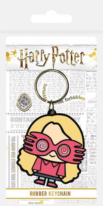 Harry Potter Rubber Keychain Chibi Luna 6 cm