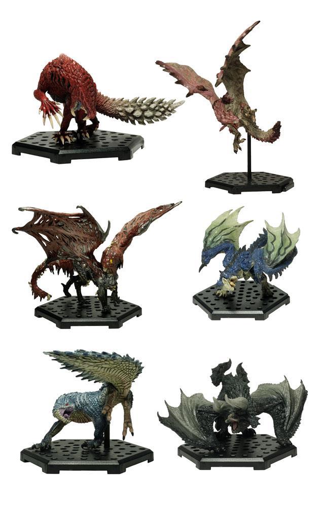 Monster Hunter Trading Figures 10 - 15 cm CFB MH Standard Model Plus Vol. 11 Assortment (6)