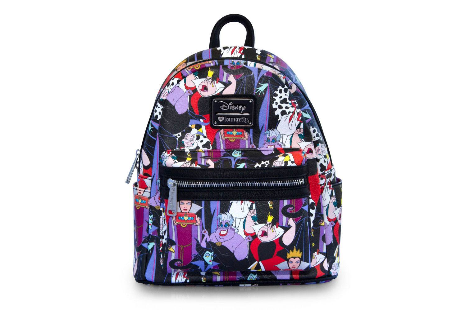 Disney by Loungefly Backpack Villains AOP