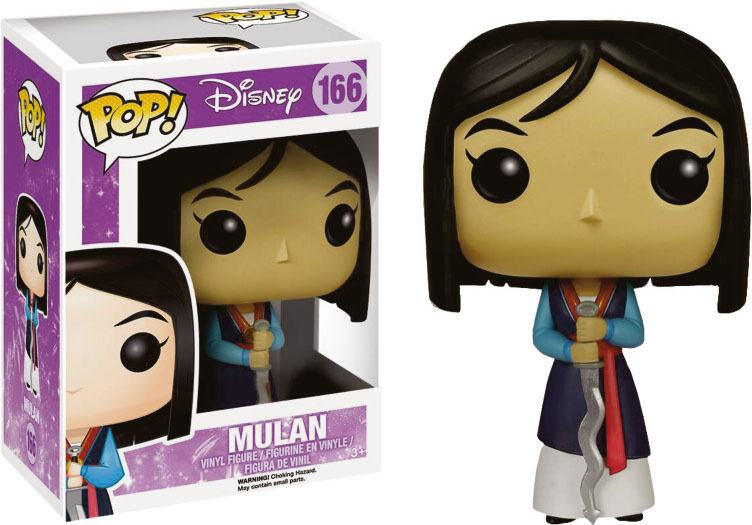 Mulan POP! Disney Vinyl Figure Mulan 10 cm