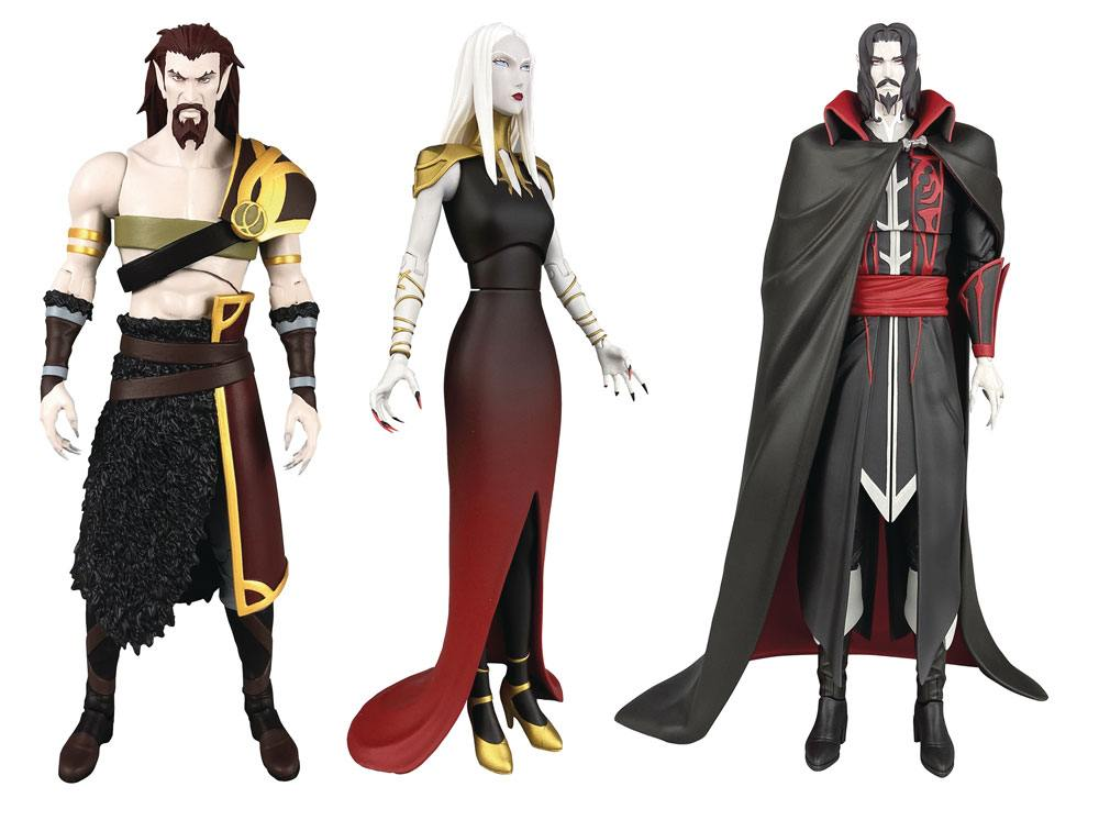 Castlevania Select Action Figures 18 cm Series 2 Assortment (6)