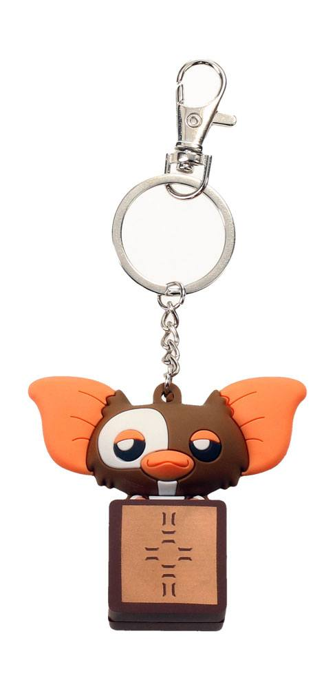 Gremlins Pokis Rubber Keychain Gizmo in a Box 6 cm
