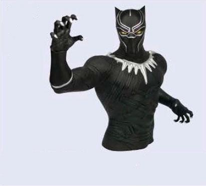 Marvel Comics Coin Bank New Black Panther 20 cm