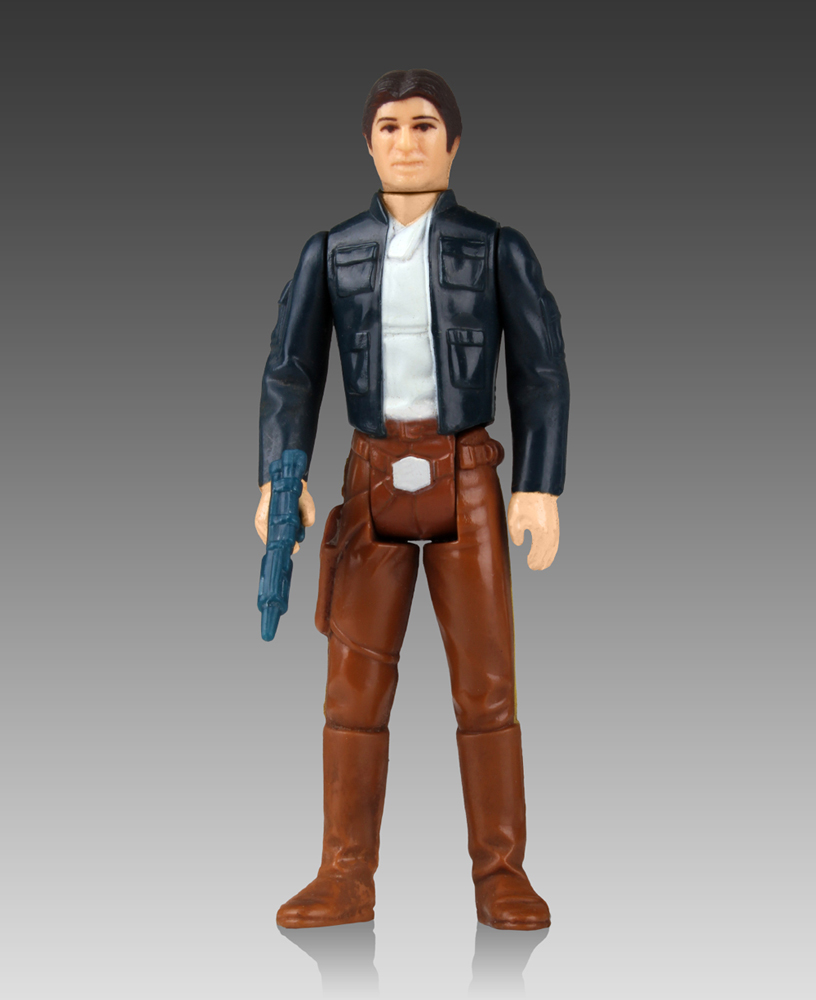Star Wars Jumbo Vintage Kenner Action Figure Han Solo (Bespin Outfit) 30 cm --- DAMAGED PACKAGING