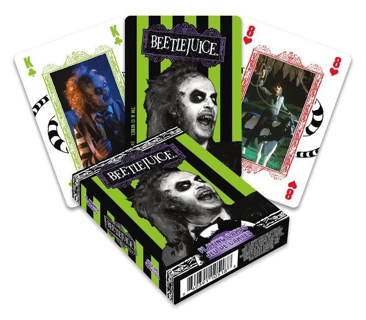 Beetlejuice Playing Cards Movie