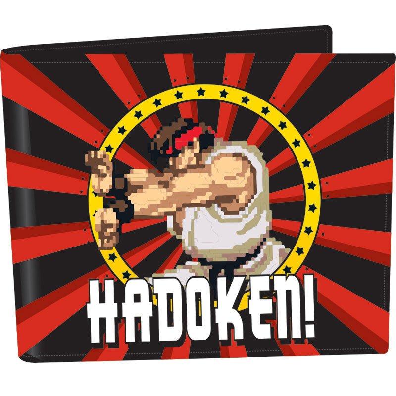 Street Fighter Wallet Hadoken