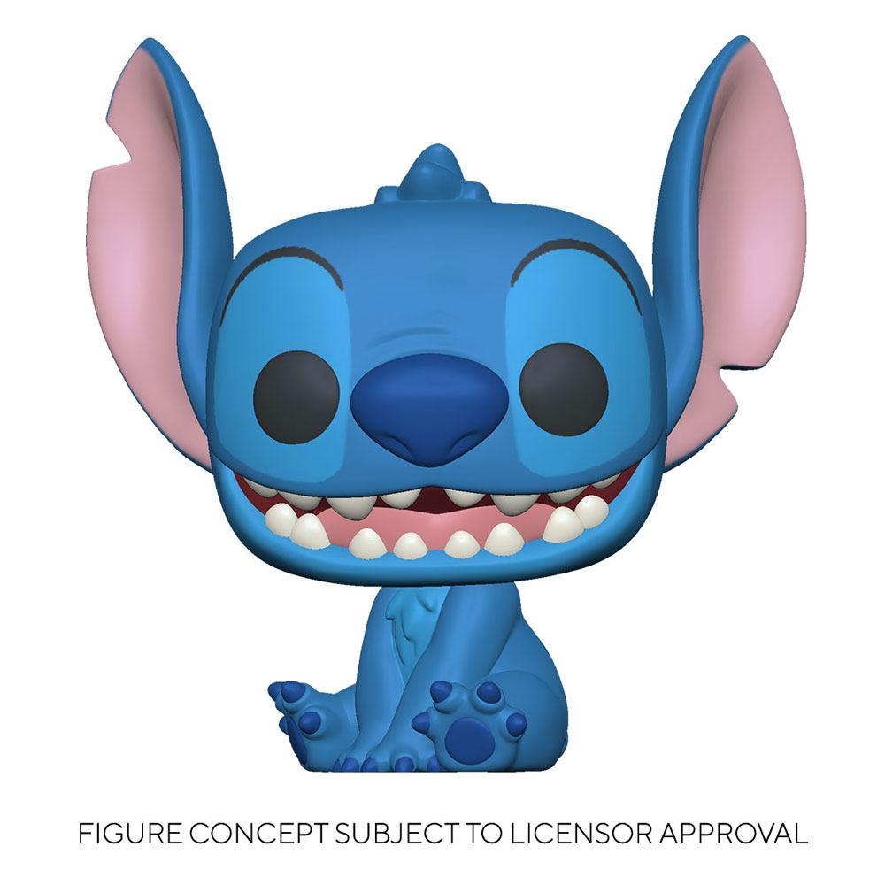 Lilo & Stitch Super Sized Jumbo POP! Games Vinyl Figure Stitch 25 cm