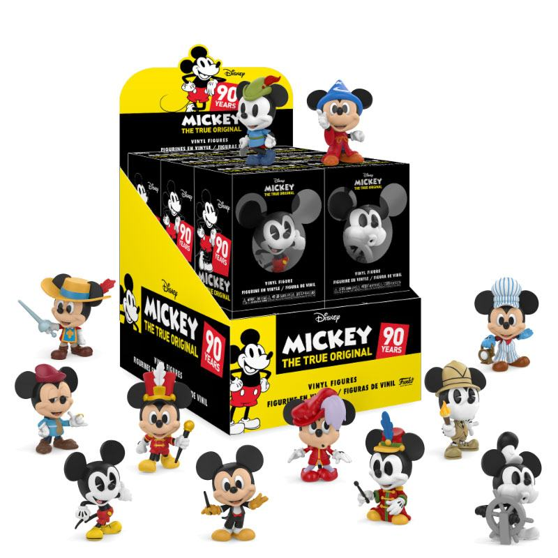 Mickey Mouse Mystery Mini Figures 5 cm Display 90th Anniversary (12)