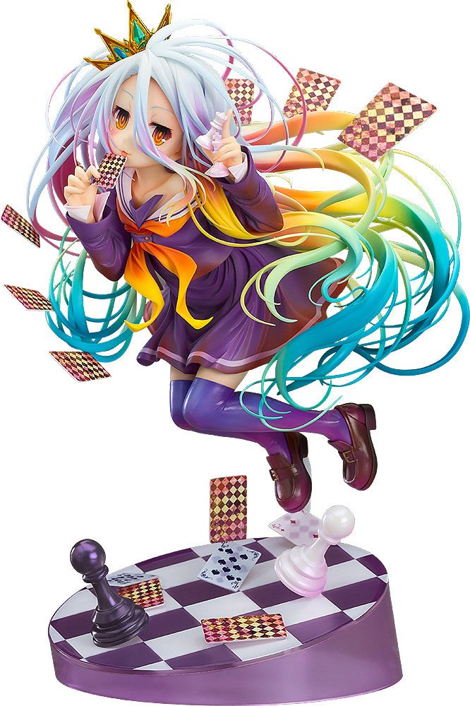 No Game No Life Statue 1/8 Shiro 19 cm