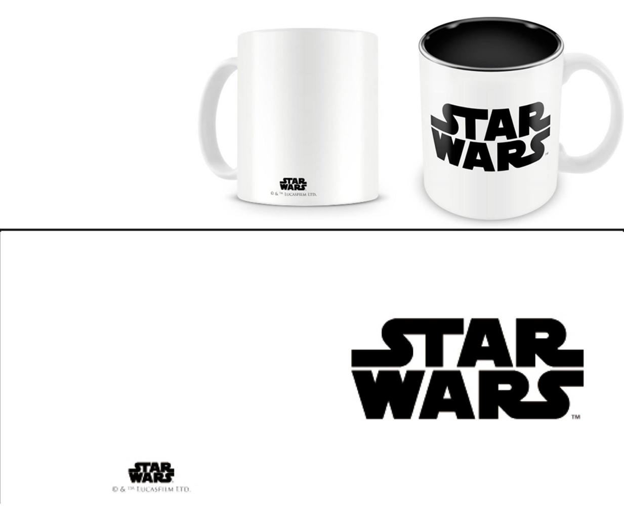 Star Wars Mug Black Logo