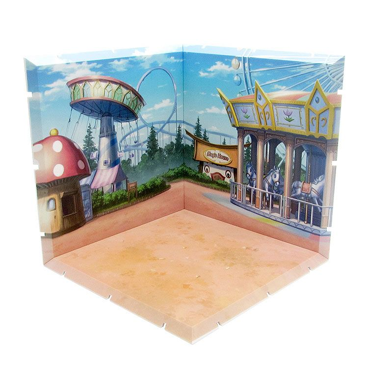 Dioramansion 150 Decorative Parts for Nendoroid and Figma Figures Amusement Park